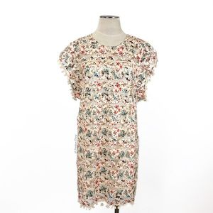 Tularosa- Elba Dress in Rainbow Lace Size Large.